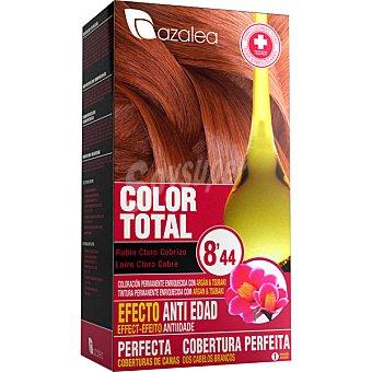 Azalea Tinte Color Total coloración permanente rubio claro cobrizo 8'44 efecto anti-edad  caja 1 unidad