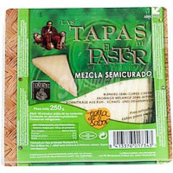 El Pastor Tapas queso semicurado mezcla 250 g
