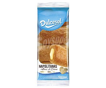 Dulcesol Napolitanas de Crema 8 unidades (320 g)