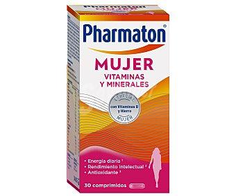 Pharmaton Complemento alimenticio espcial mujeres, con vitamina B y hierro 30 uds