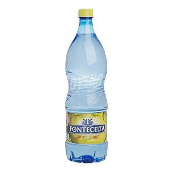 FONTECELTA Agua sabor limón Botella de 1,25 Litros