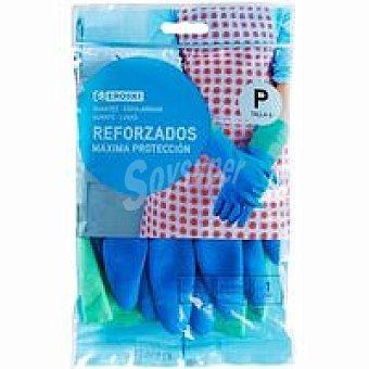 Eroski Guantes reforzados talla pequeña Paquete 1 par