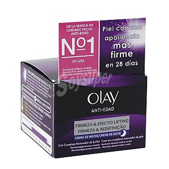 Olay Crema reafirmante de noche firmeza y efecto lifting antiedad Tarro 50 ml