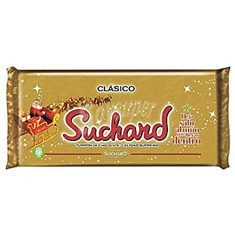 Suchard Turrón chocolate crujiente clásico Tableta 260 g