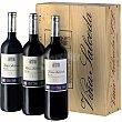 Vino tinto reserva D.O. Rioja caja de madera 3 botellas 75  Viña Salceda