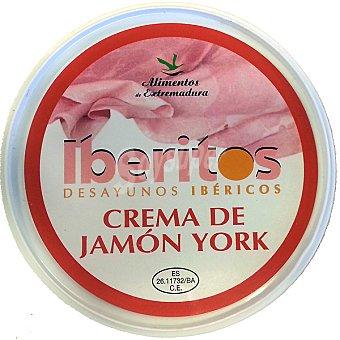 Iberitos Crema de jamón york Envase 250 g