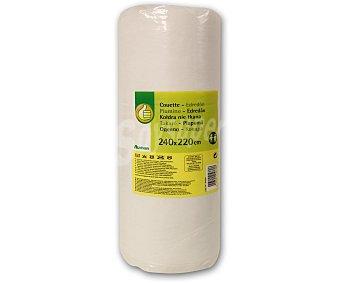Productos Económicos Alcampo Relleno nórdico acrílico color blanco, 135/150 centímetros 1 Unidad