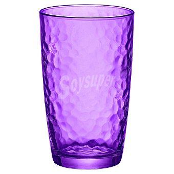 BORMIOLI Palatina Vaso Alto de cristal en color violeta  49 cl