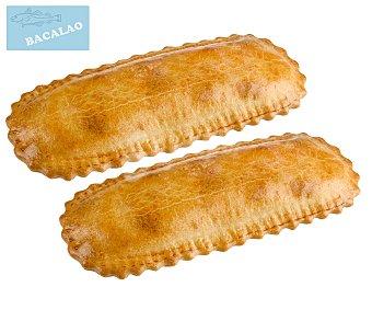 Empanadas de bacalao 240 gr 2 uds