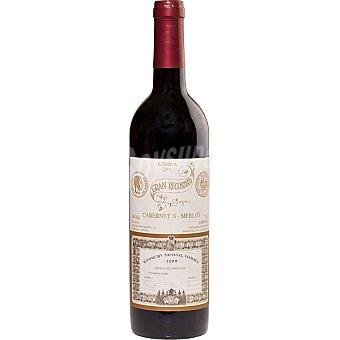 GRAN RECOSIND Vino tinto reserva cabernet sauvignon merlot D.O. Emporda botella 75 cl Botella 75 cl