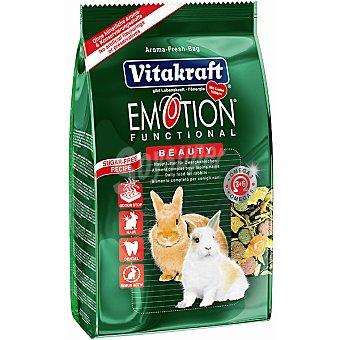Emotion Vitakraft Alimento premium para conejos enanos Paquete 1,8 kg