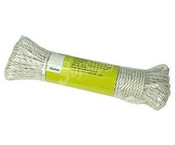 Productos Económicos Alcampo Bobina de cuerda para tender de plástico trenzado, 20 metros 1 unidad