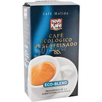 NOVOCAFE Café molido descafeinado Paquete 250 g