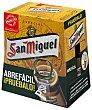 Cerveza Pack 6 botellines de 25 centilitros San Miguel