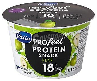 Valio pro feel Yogur con queso fresco batido (quark), sin lactosa y con pure de pera 175 g