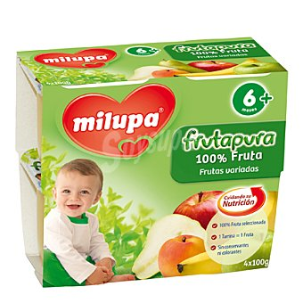 Milupa frutapura Frutas variadas 4x100gr
