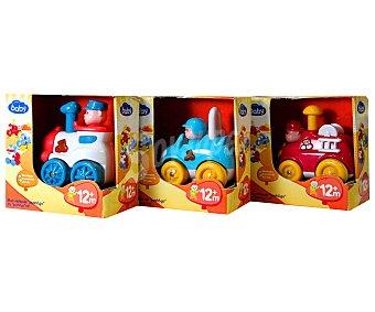 Baby Auchan Vehículos Pusa y Corre con sonidos, 1 unidad