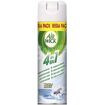 Air Wick Ambientador Frescor de Ropa limpia Flor 4 en 1 spray 500 ml 1 spray 500 ml