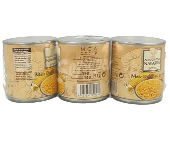 Alta Cocina Navarra Maiz 3x140 gramos