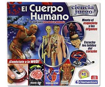CLEMENTONI Juego Científico El Cuerpo Humano 1 Unidad
