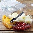 Ensalada de frutas (naranja, melón y granada) Carrefour 300 g Bouquet
