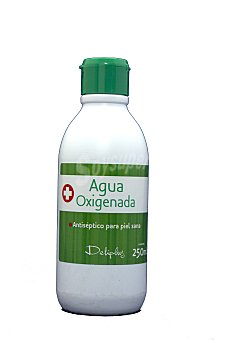 Deliplus Agua oxigenada Botella 250 cc