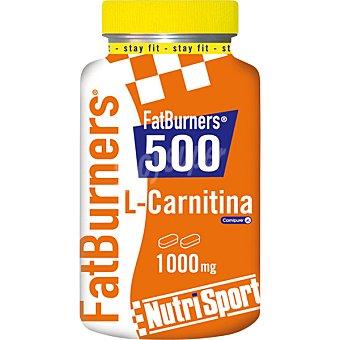 NUTRISPORT Fat Burners 500 con L-Carnitina quemagrasa  Bote de 100 g