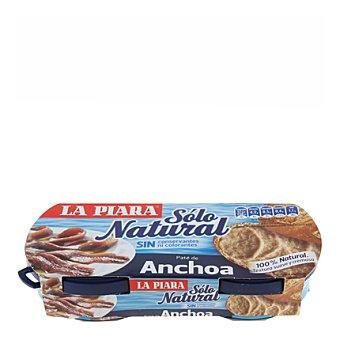 La Piara Paté de anchoa Sólo Natural 168 g