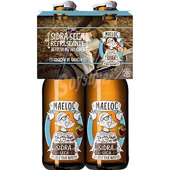 Maeloc Sidra natural pack 4x20 estuche 80 cl Pack 4