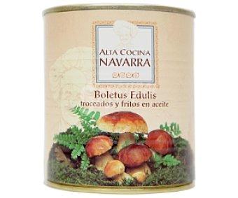 ALTA COCINA NAVARRA Boletus edulis troceados y fritos 460 Gramos