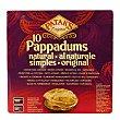 Pan Pappadum natural 100 g Patak's