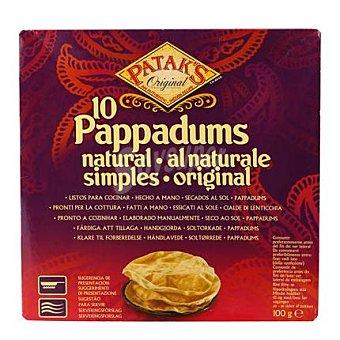 Patak's Pan Pappadum natural Patak's 100 g
