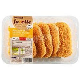 Eroski Faccile Solomillo de pollo empanados Bandeja 320 g