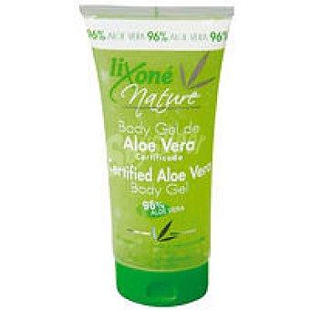 LIXONE Nature Body gel de aloe certifica Tubo 200 ml