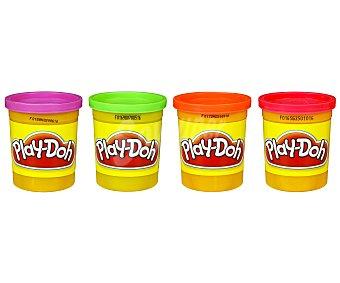 Playdoh Playdoh Pack 4 Botes 1u
