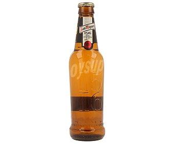 SAN MIGUEL 1516 Cerveza elaborada según la ley de pureza de 1516 Botella de 33 centilitros