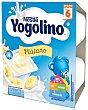Postre lácteo de plátano especial para niños desde 8 meses iogolino 100 gr Pack de 4 uds Nestlé