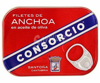 Consorcio Filete de anchoa en aceite de oliva 50 gramos