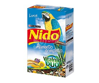 Purina Nido Alimento para loro Caja 600 g