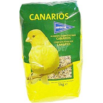 Hipercor Alimento completo para canarios Paquete 1 kg