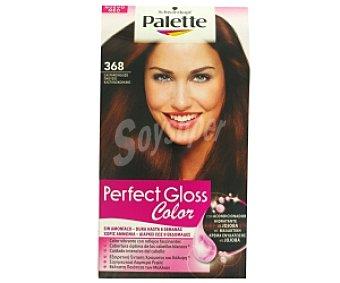 PALETTE GLOSS COLOR Tinte color Castaño Rojizo, sin amoníaco Nº 368 1 Unidad