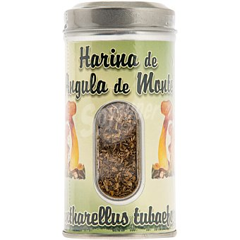 Frutobos Harina de angula de monte Cantharellus tubaeformis para aromatizar y ensalzar los sabores bote 50 g bote 50 g