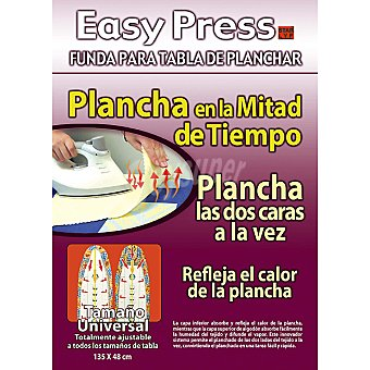 EASY PRESS 002090 Funda para tabla de la plancha 135 x 48 cm