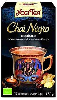 Yogi Tea Infusión Chai Negro Biológico Yogi Tea 17 sobre