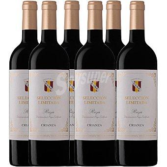 Cune Vino tinto crianza D.O. Rioja Selección Limitada Caja de 6 botellas de 75 cl