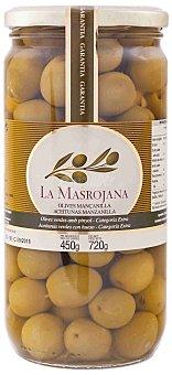 La Masrojana Aceitunas Manzanilla 450 g neto escurrido