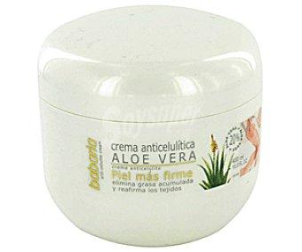 Babaria Crema Anticelulitica Aloe Vera Tarro de 200 Mililitros