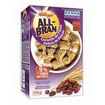 All Bran Kellogg's All Bran almohadillas fruta y fibra Caja 375 g