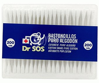 DR. SOS Bastoncillos 200 Unidades