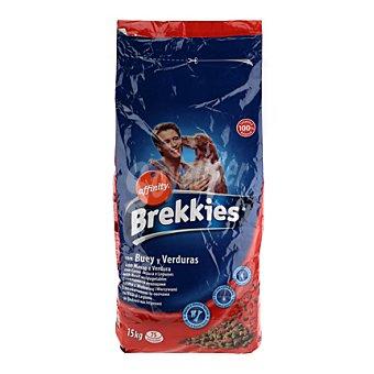 Brekkies Affinity Comida para perros buey y verdura 15 kg
